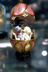蛋雕甜蜜之吻