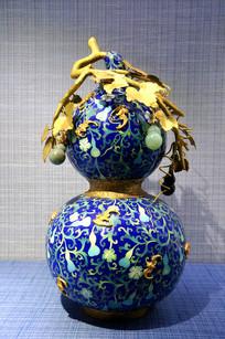 景泰蓝之福禄万代瓶