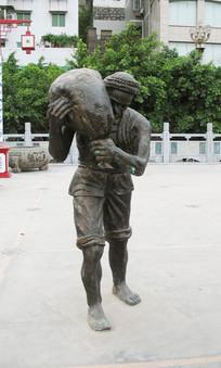 巫山圣泉公园城市雕塑