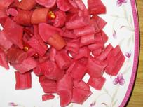 重庆美食泡萝卜