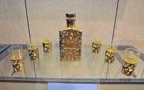 玻璃雕花酒具
