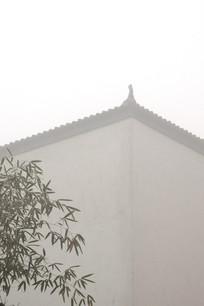 古建与竹子