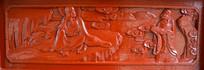 木雕罗汉壁画求教