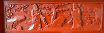 木雕罗汉壁画游玩
