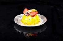 柠檬水果蛋糕