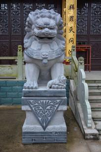 日照禅寺石狮子