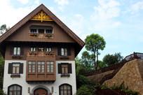 三角形屋顶特色建筑