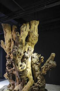 树根艺术展示
