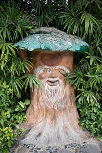 树仙老爷爷雕塑