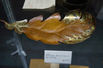 铜芭蕉叶形杯托