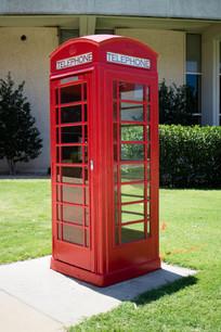 美国俄克拉荷马大学电话亭