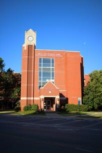 美国俄克拉荷马大学诺曼校区红色建筑