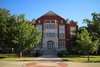 美国俄克拉荷马大学西式建筑