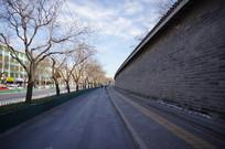 天坛公园外墙