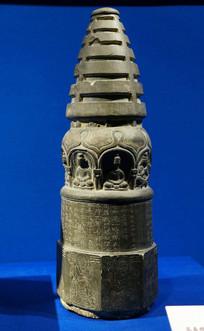 北凉时期高善穆造佛石塔