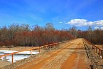 林区运材公路桥