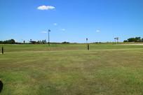 美国俄城契卡索文化中心草地