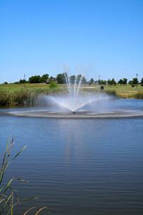 美国俄城契卡索文化中心喷泉