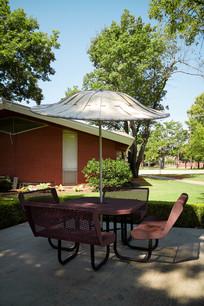 美国俄克拉荷马大学户外休闲场所