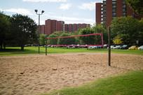 美国俄克拉荷马大学沙滩排球场