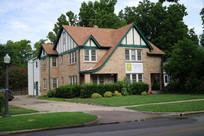 美国俄克拉荷马大学西式别墅