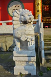 武圣庙石狮子