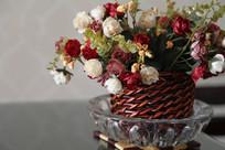 室内装饰绢花