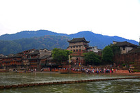 凤凰古城主体建筑