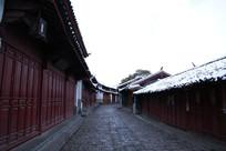 丽江古建筑老房子