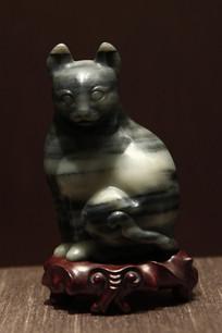 民国黑白玉猫