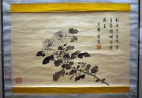 清代乾隆皇帝《菊花图》