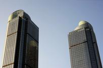 上海港汇大厦双子楼
