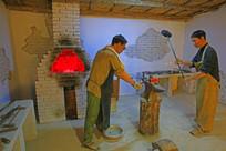铁匠炉模型