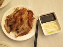 中国名小吃全聚德烤鸭