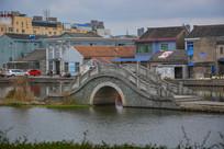 公园石拱桥