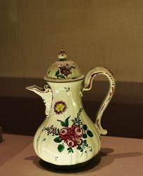 花图案咖啡壶