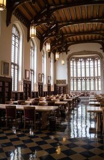 美国俄克拉荷马大学图书馆内景