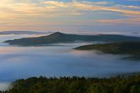 山林晨雾云海