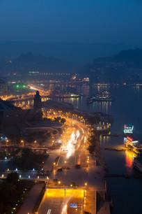 重庆万州夜景