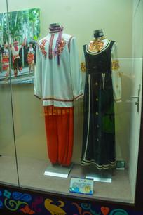 少数民族服装俄罗斯族