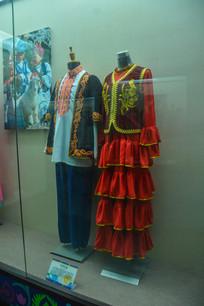少数民族服装哈萨克族