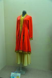 少数民族服装塔吉克族
