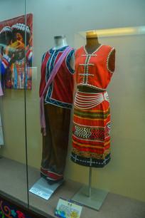 少数民族服装佤族