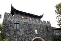 古典城墙角楼