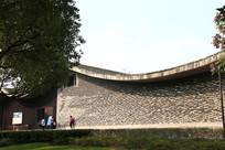 古典院墙一角
