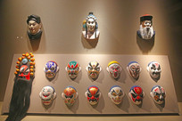 京剧演员面具