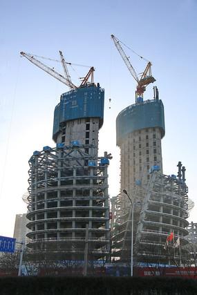 丽泽SOHO在建工程