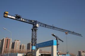 丽泽商务区建筑塔吊