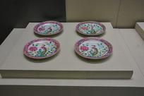 马来西亚博物馆藏品娘惹餐盘