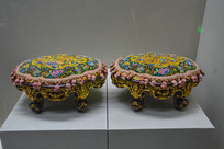 马来西亚博物馆藏品娘惹婚嫁脚踏